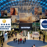 "Blue Star Marina  booth at ""boot`14"""